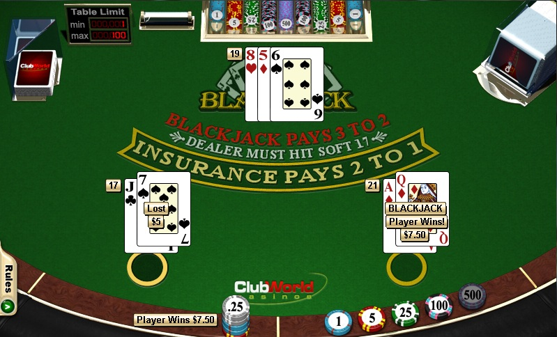 How to Beat the Blackjack Dealer - Winning Blackjack Tips
